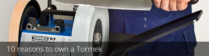 10 reasons to own a Tormek