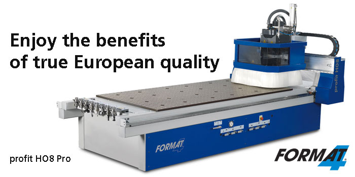 CNC solutions from Format4 - part of the Felder Group